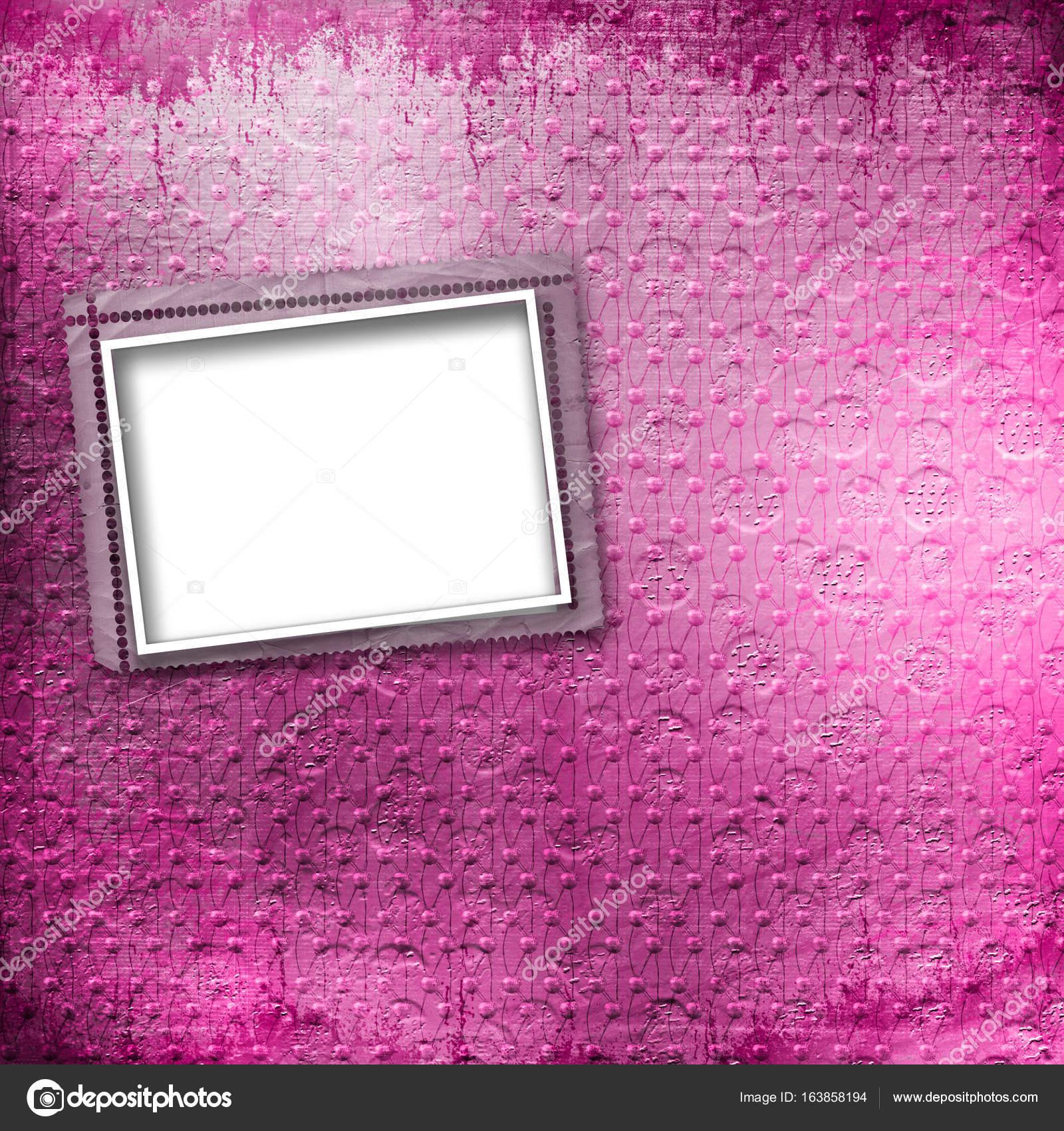 Alte Papier-Fotorahmen auf Vintage-Hintergrund — Stockfoto © Loraliu ...