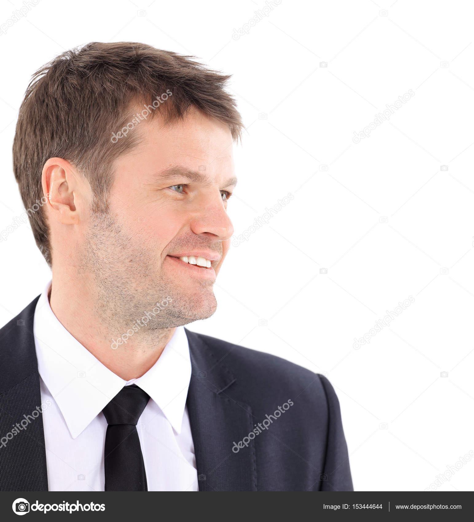 Retrato De Un Hombre De Negocios Seguros Stockfoto Depositedhar