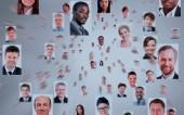 isolato ritratti della gente di affari