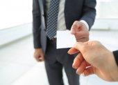 Exchange üzleti kártya első alkalommal találkozik