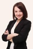 portrét ženy úspěšné obchodní.