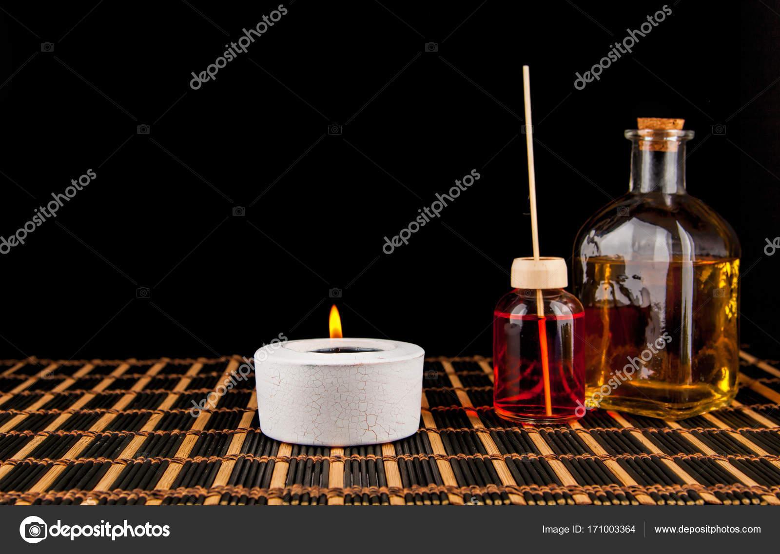 Decoration De Spa se rapportant à décoration de spa avec des pierres, bougie, avec huile de massage