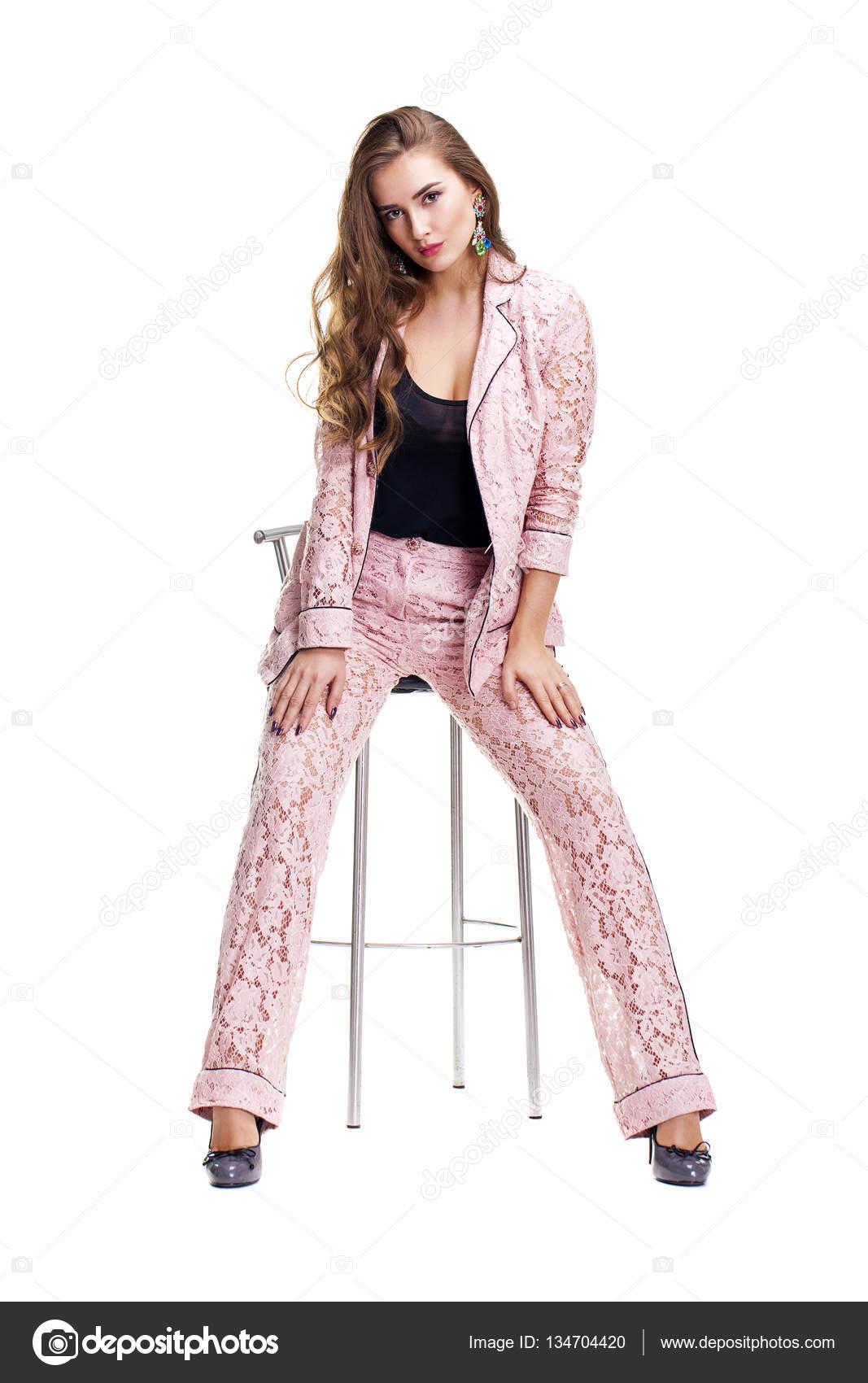 roze broekpak