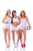 tři sexy fitness ženy