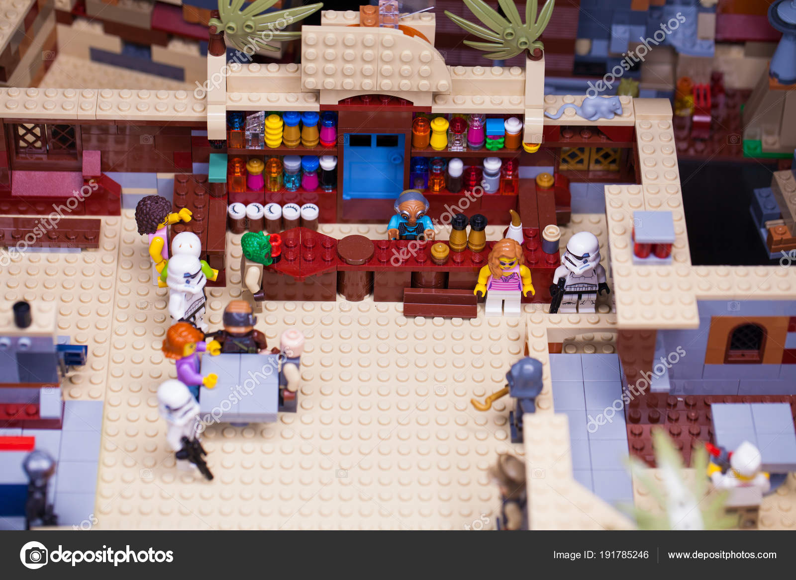 RUSSIA, April 12, 2018  Constructor Lego Star Wars  Episode IV