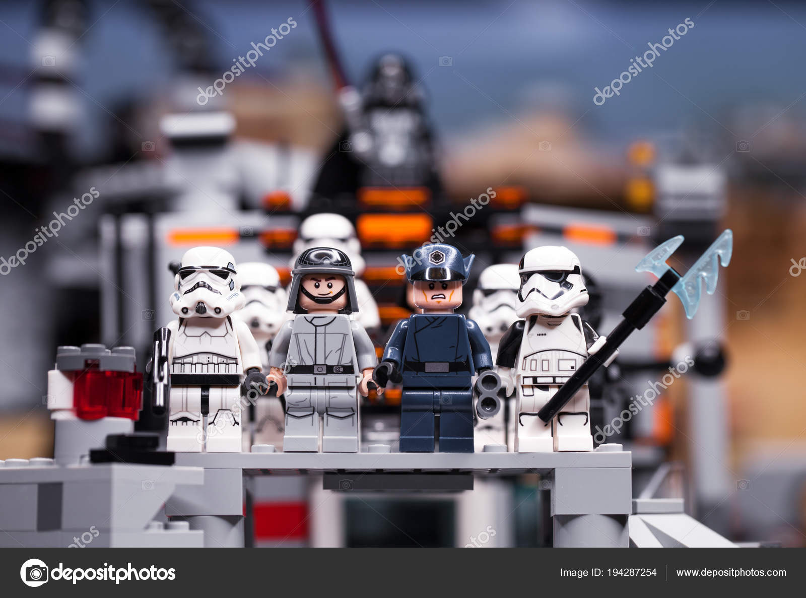 RUSSIA, April 12, 2018  Constructor Lego Star Wars  Episode
