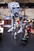 Rusko, 12. dubna 2018. Konstruktor Lego Star Wars. V St Walker