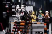 Ruština, 03 duben 2018. Konstruktor Lego Star Wars. Darth Vader