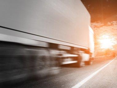 Highway transportation with Trucks