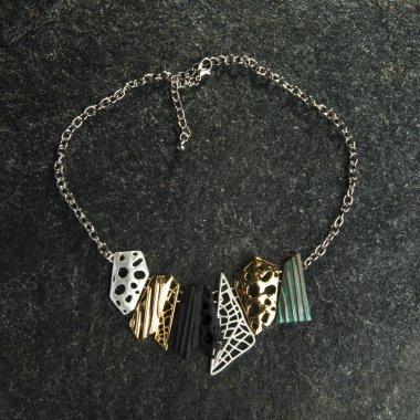 beautiful modern necklace
