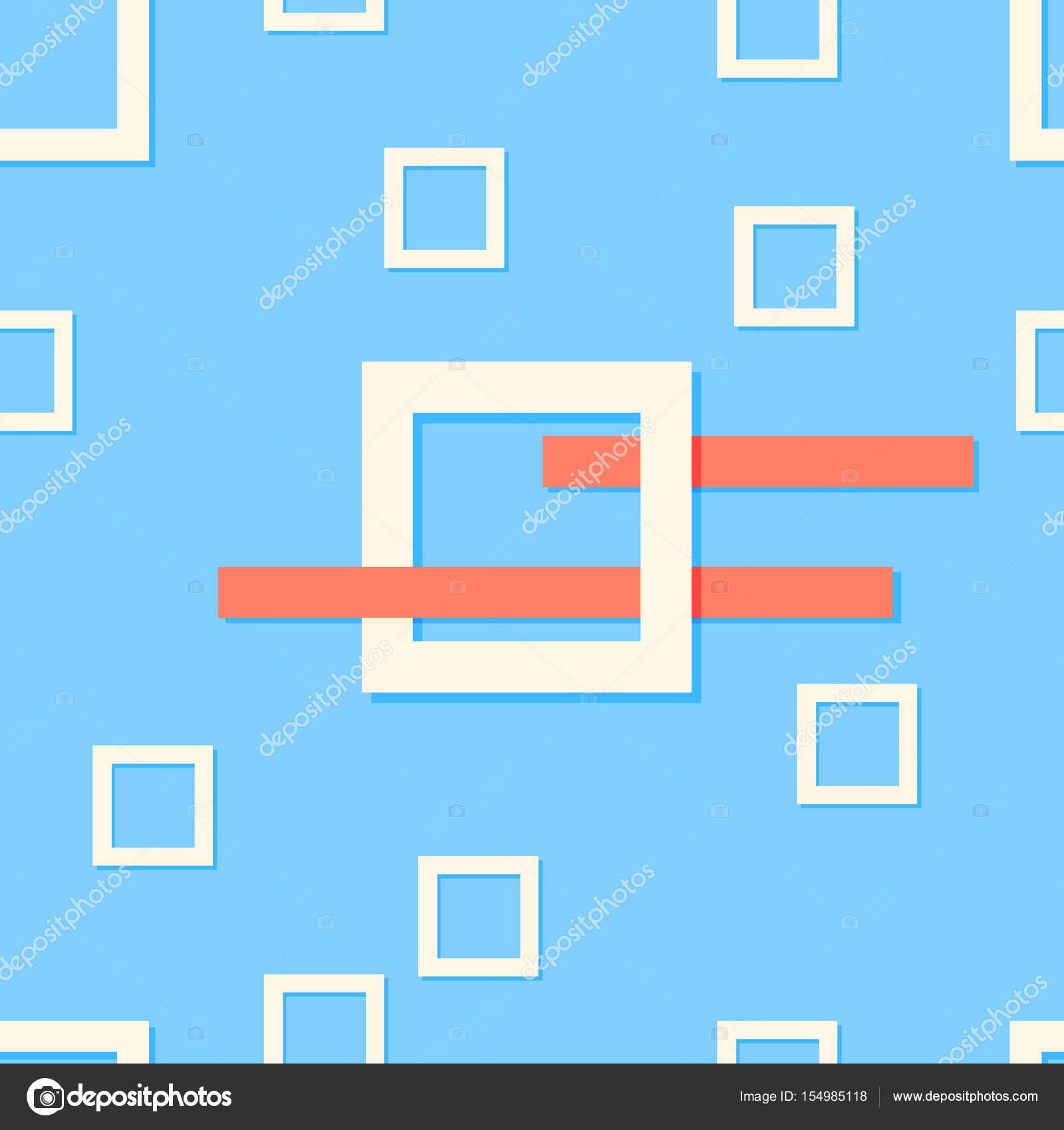 Abstrakten zeitgenössischen Stil. Moderne blaue Hintergrund ...