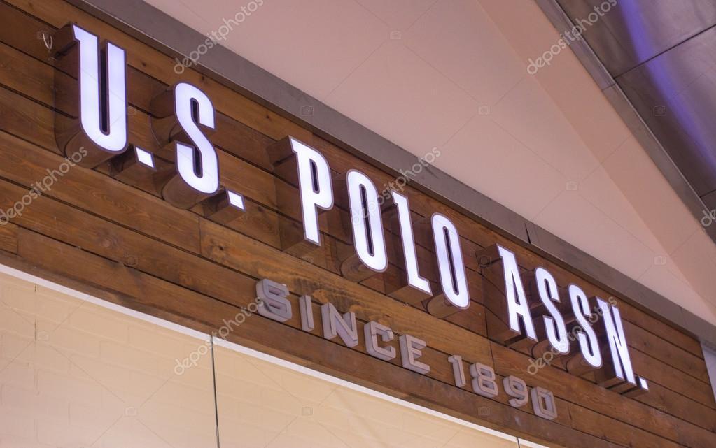 size 40 3e970 764cb Segno del Polo Assn Store US — Foto Editoriale Stock ...