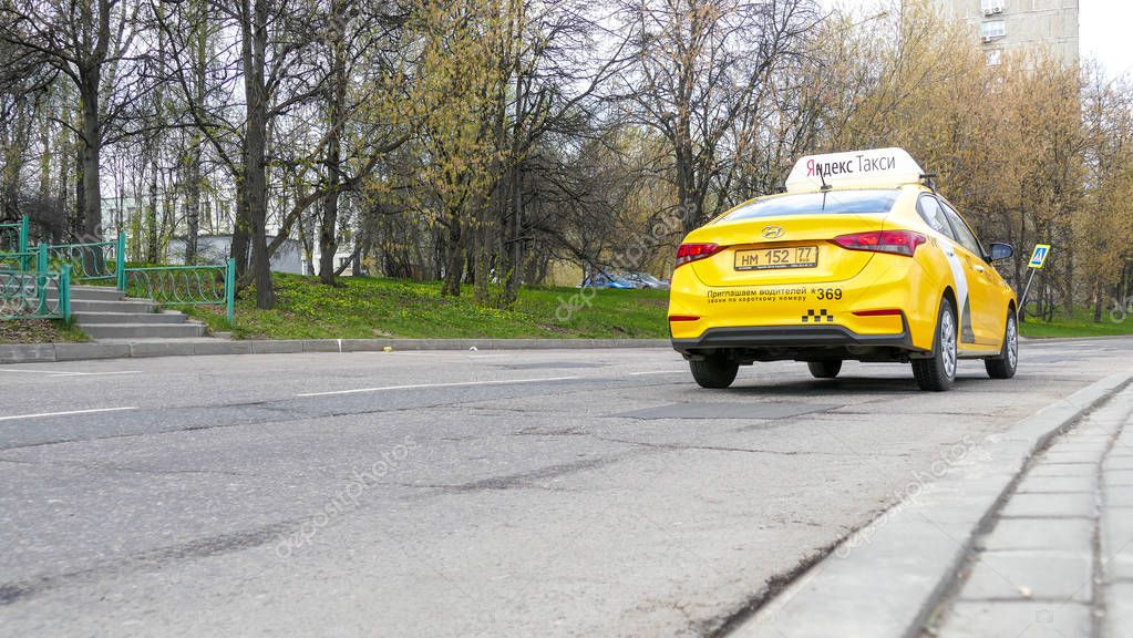 Taxi in Moscow