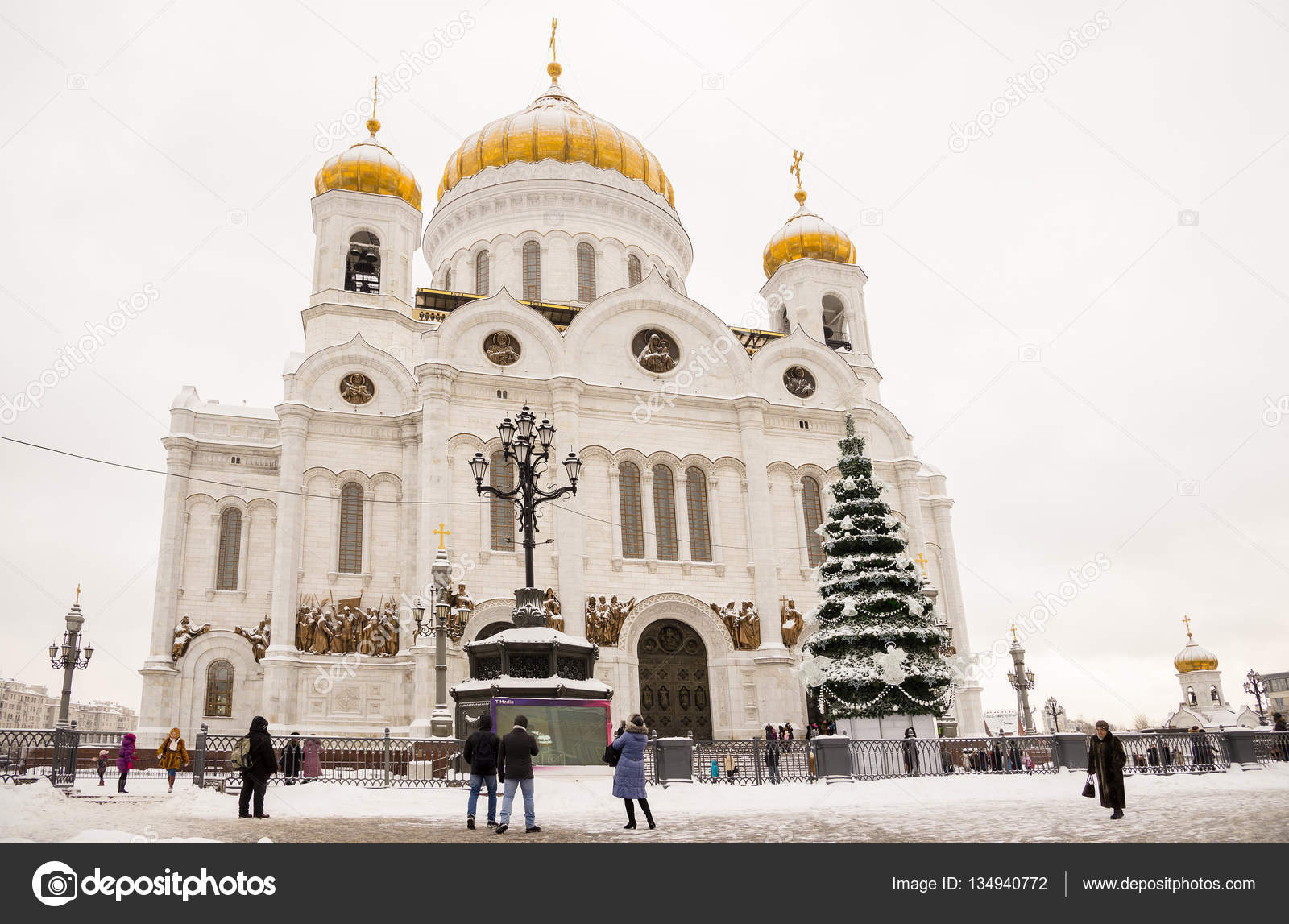 Christmas tree in the Cathedral of Christ the Savior 2019 40