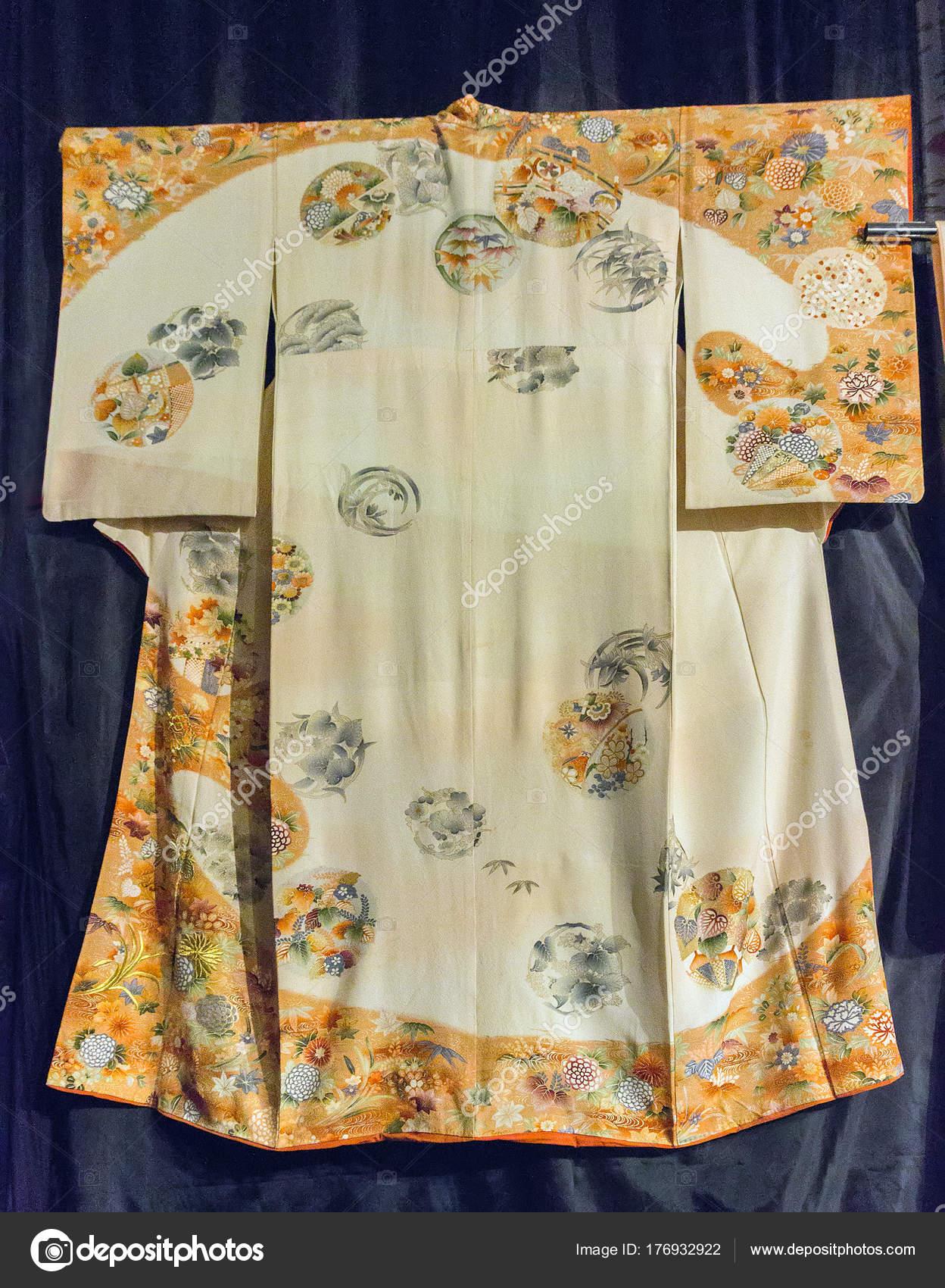 Patron de kimono chino   Patrón de Japón kimono seda japonesa ...
