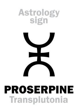 Astrology: supreme planet PROSERPINE