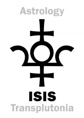 Astrology: planet ISIS