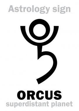 Astrology: planet ORCUS
