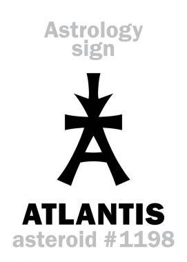 Astrology: asteroid ATLANTIS