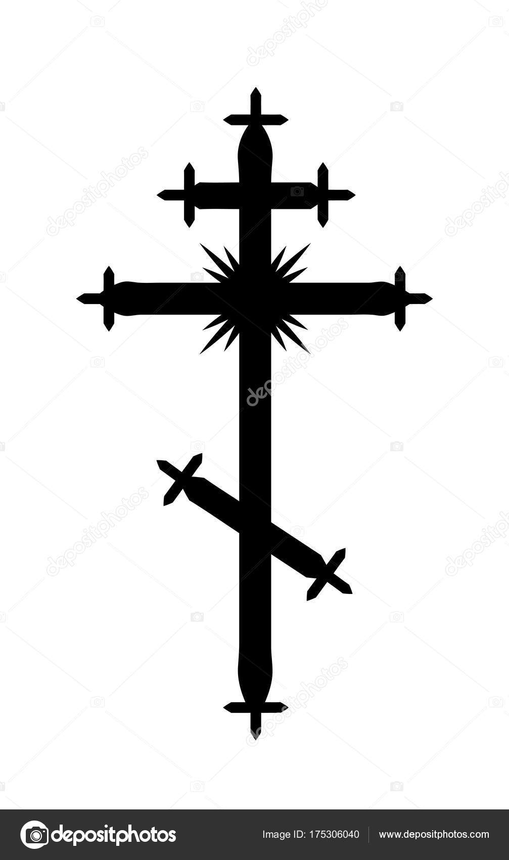 Catholic cross and Orthodox: what are the differences 79