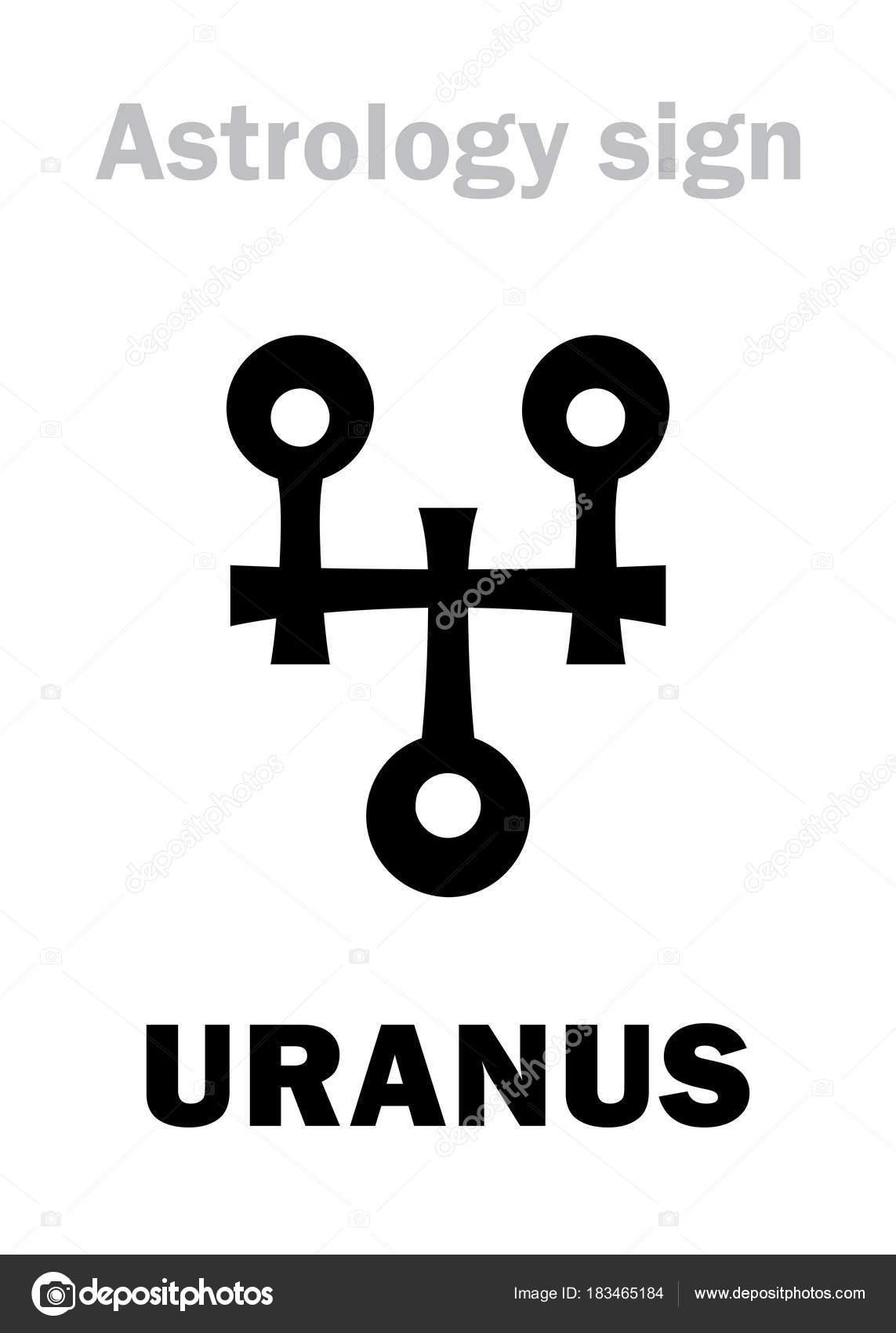 Black symbols astrology planets vector infiltration treatment diagram astrology planet uranus stock vector photon 183465184 depositphotos 183465184 stock illustration astrology planet buycottarizona