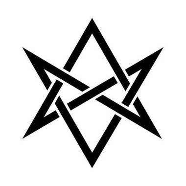 The Horns of Asmodeus (mystical unicursal hexagram)