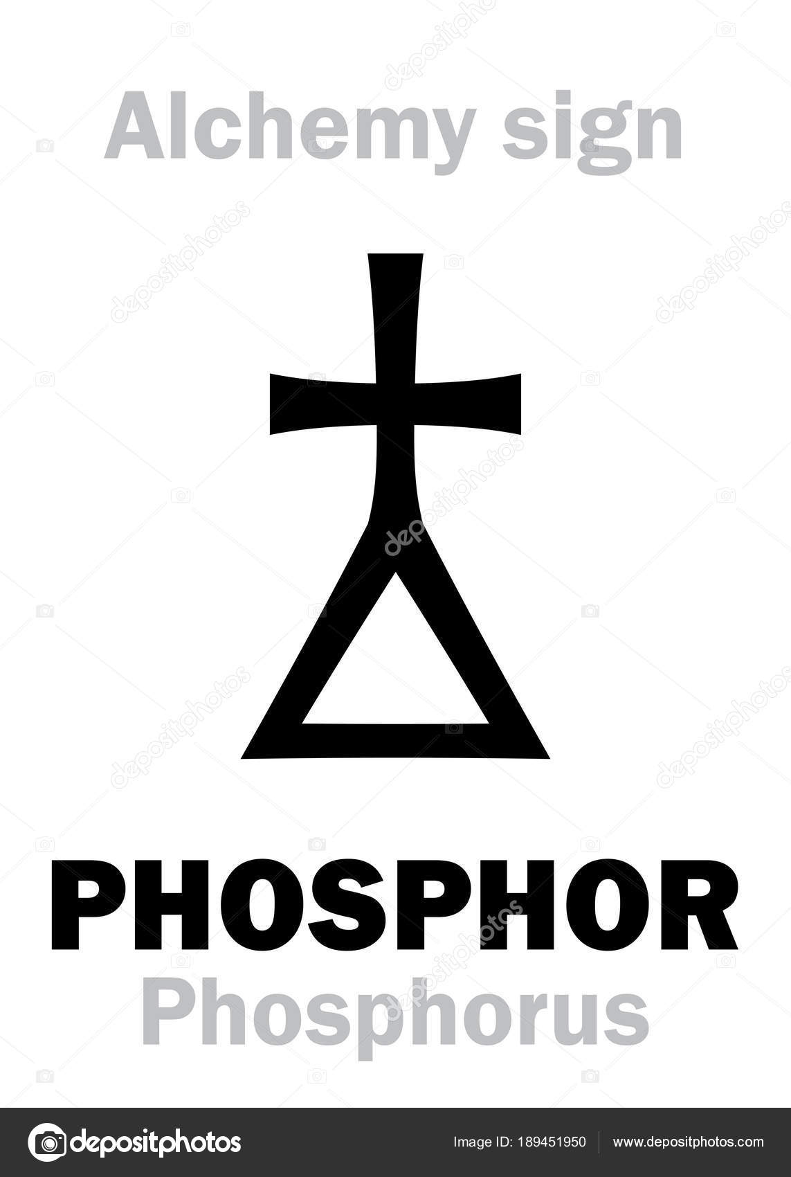 Alchemy Phosphor Phosphorus Stock Vector Photon 189451950