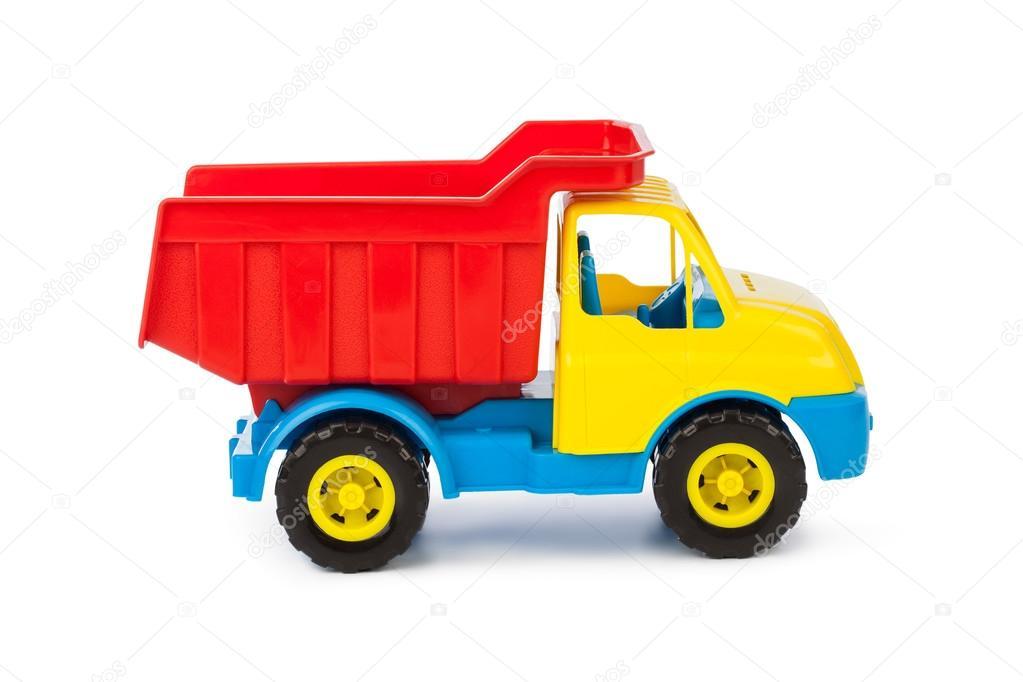 Spielzeug auto lkw — stockfoto