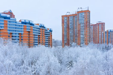 Winter in Moscow Russia