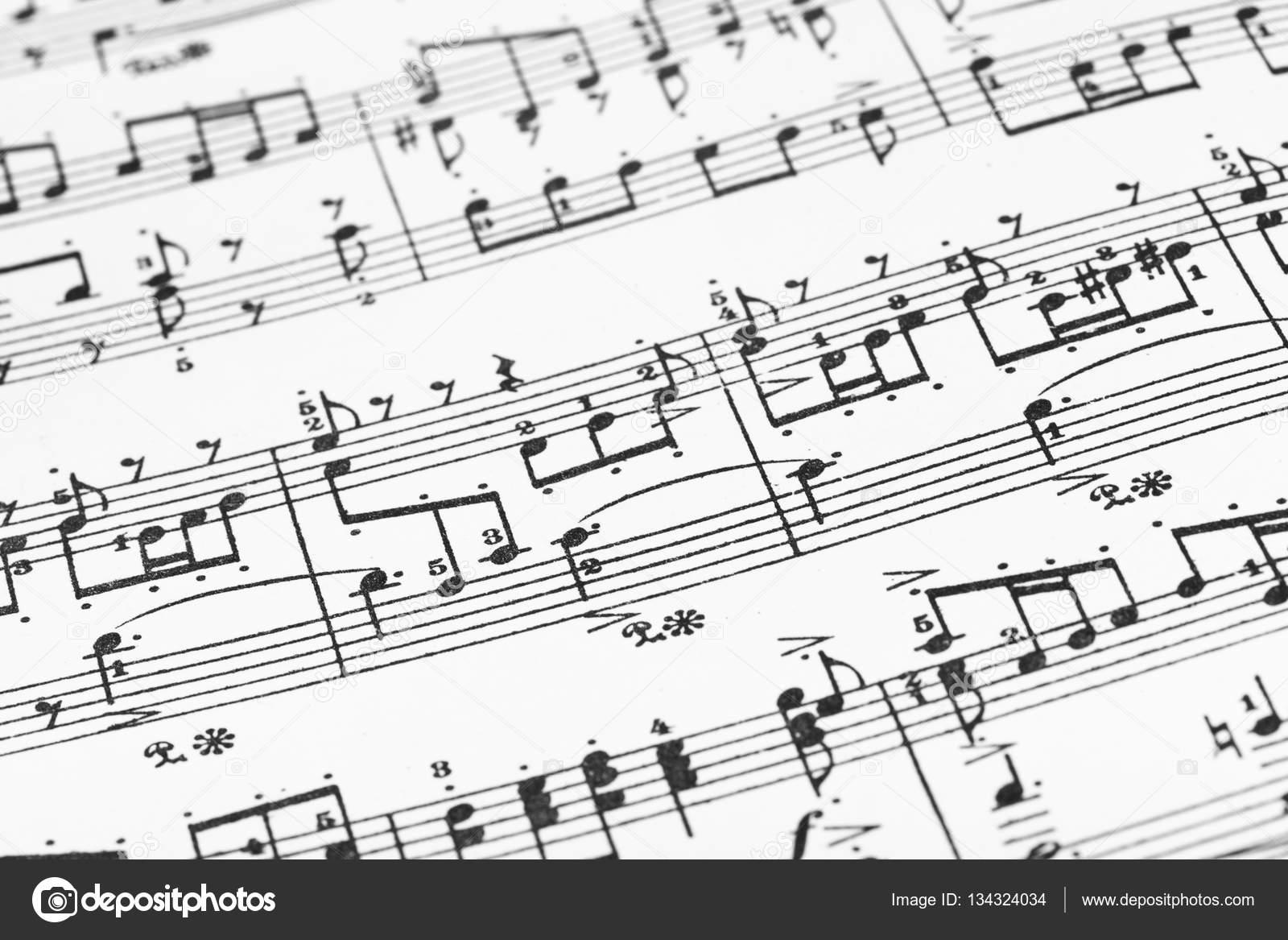 hoja de música - fondo de arte abstracto — Fotos de Stock © Violin ...