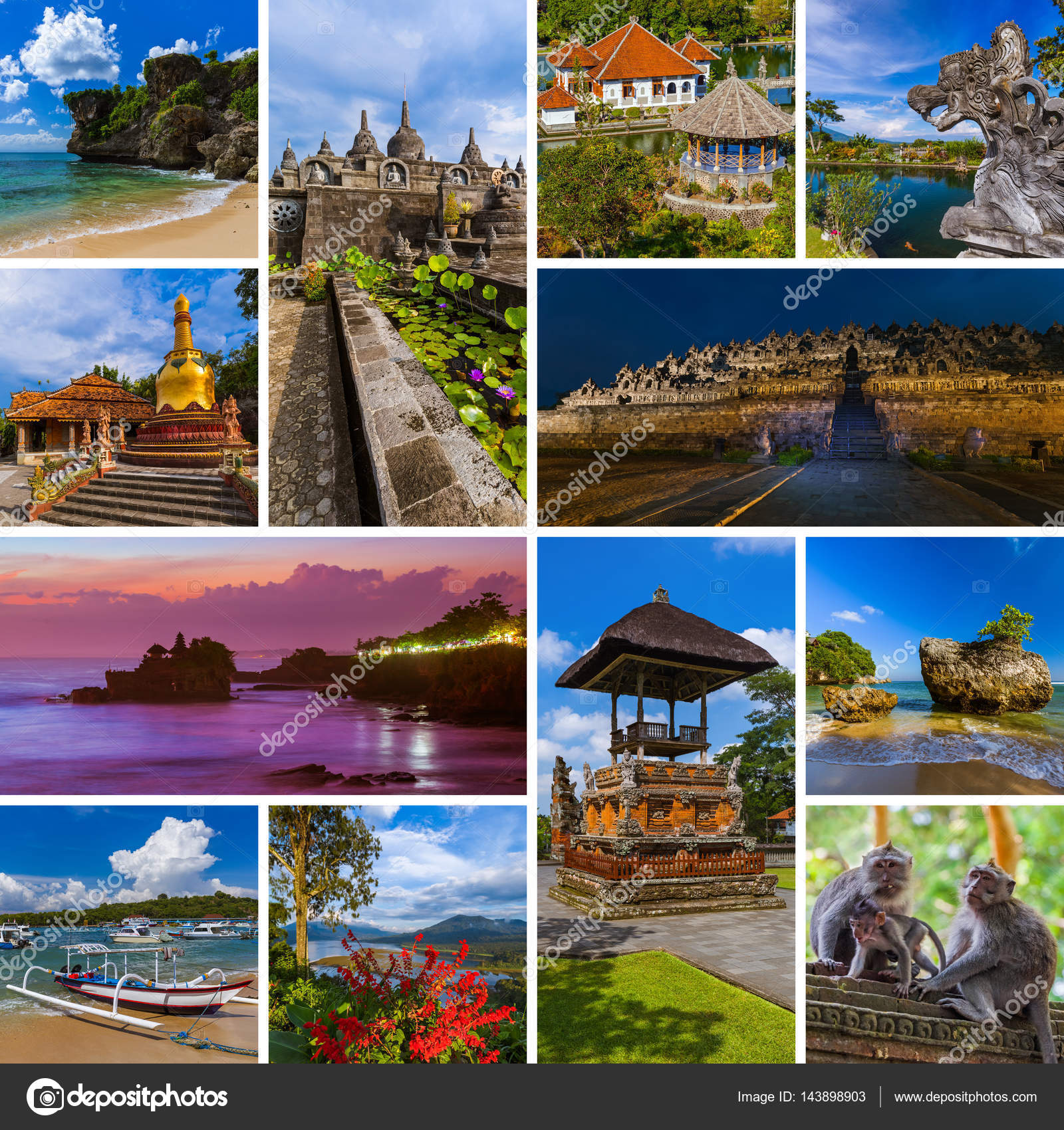 Pictures Bali Indonesia Collage Of Bali Indonesia Travel Images My Photos Stock Photo C Violin 143898903