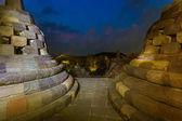 Fotografia Tempio buddista di Borobudur - isola di Java in Indonesia