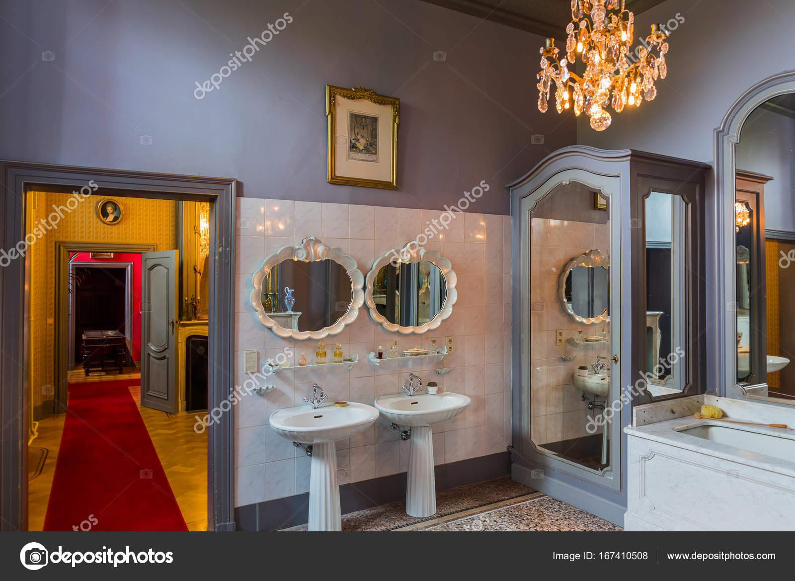 Interieur van het kasteel van Gaasbeek in Brussel België ...