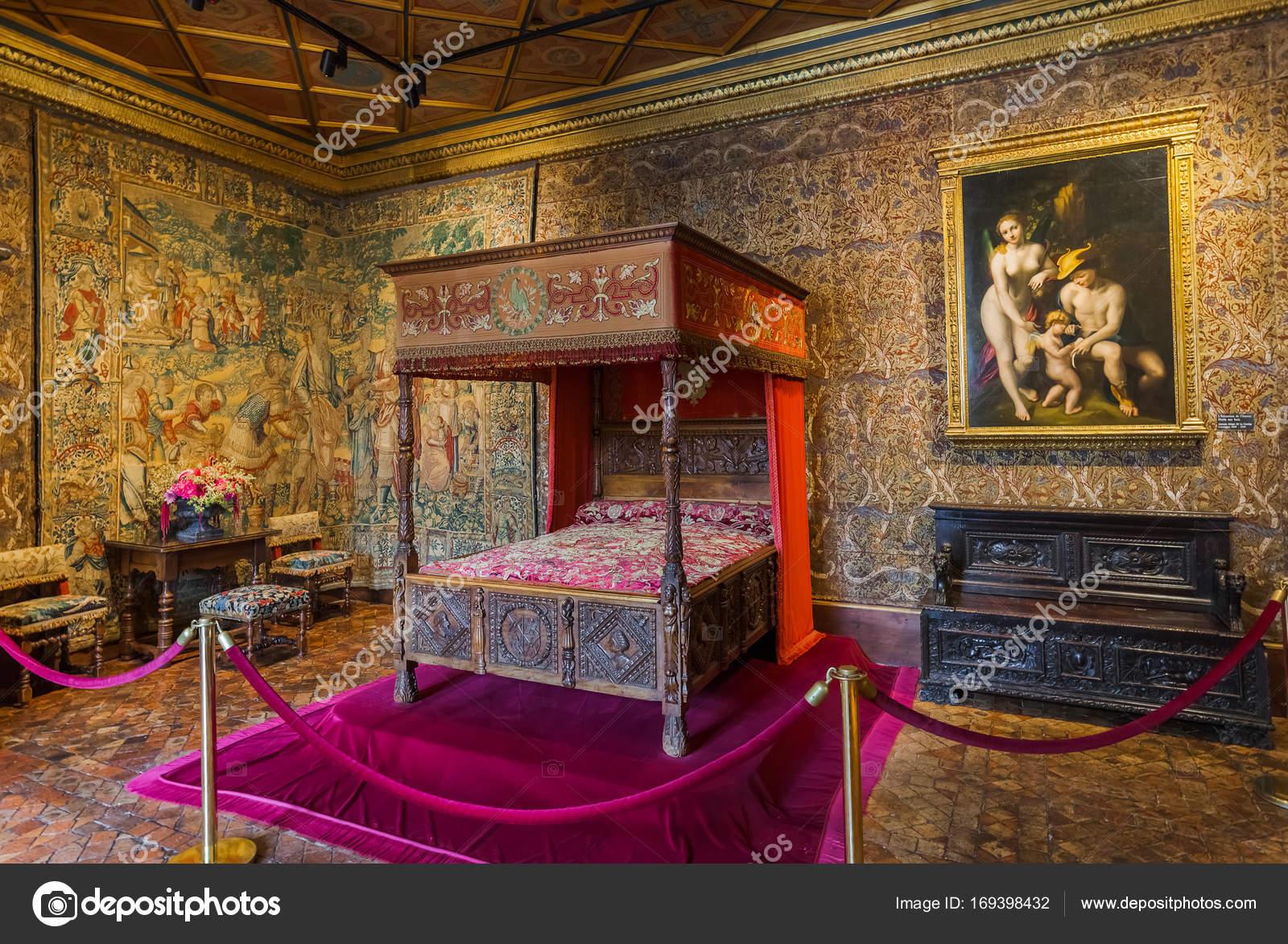Intérieur du château de Chenonceau dans la vallée de la Loire ...