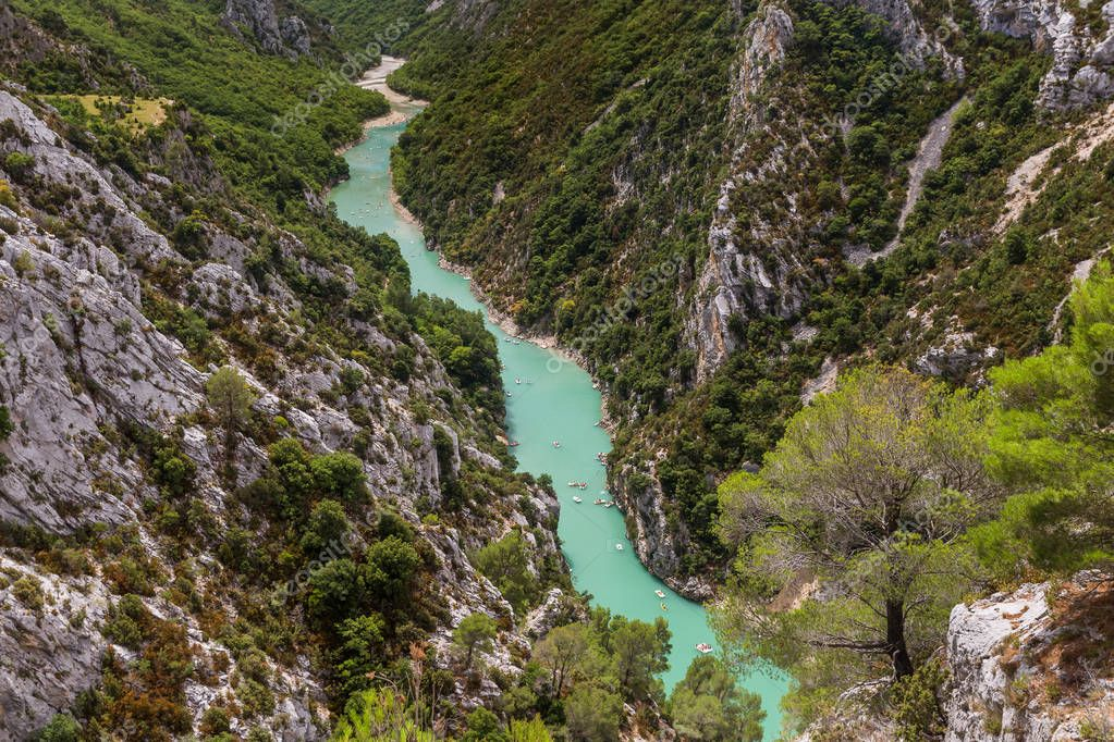 Canyon of Verdon - Provence France