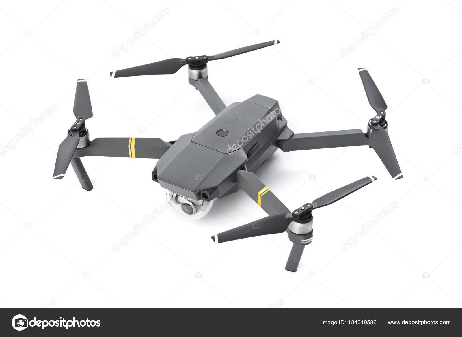 Quadcopter drone with camera — Stock Photo © Violin #184019586