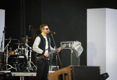 Noize MC rap & rock singer play open air concert