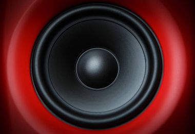 Professional cabinet hifi loudspeaker system for music recording
