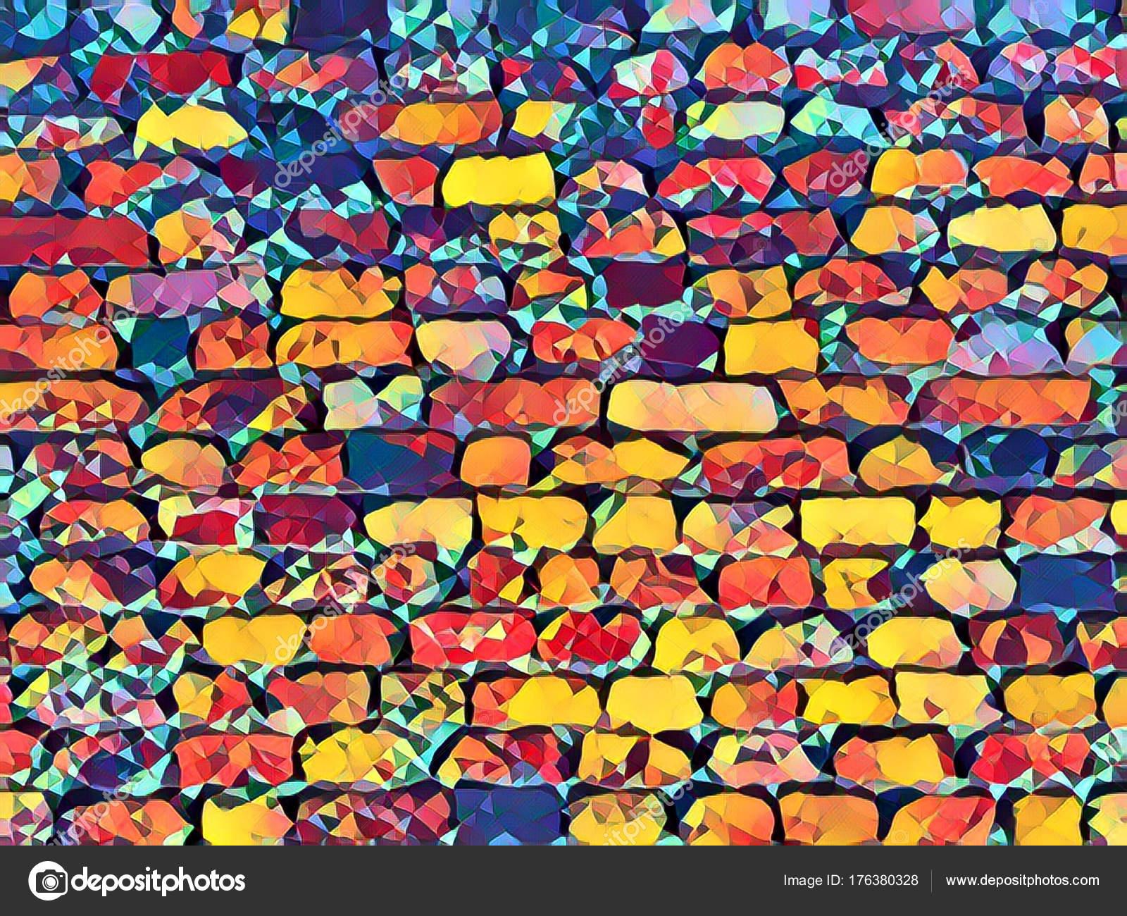 Background Oaxaca Wallpaper Creative Brick Wall Background