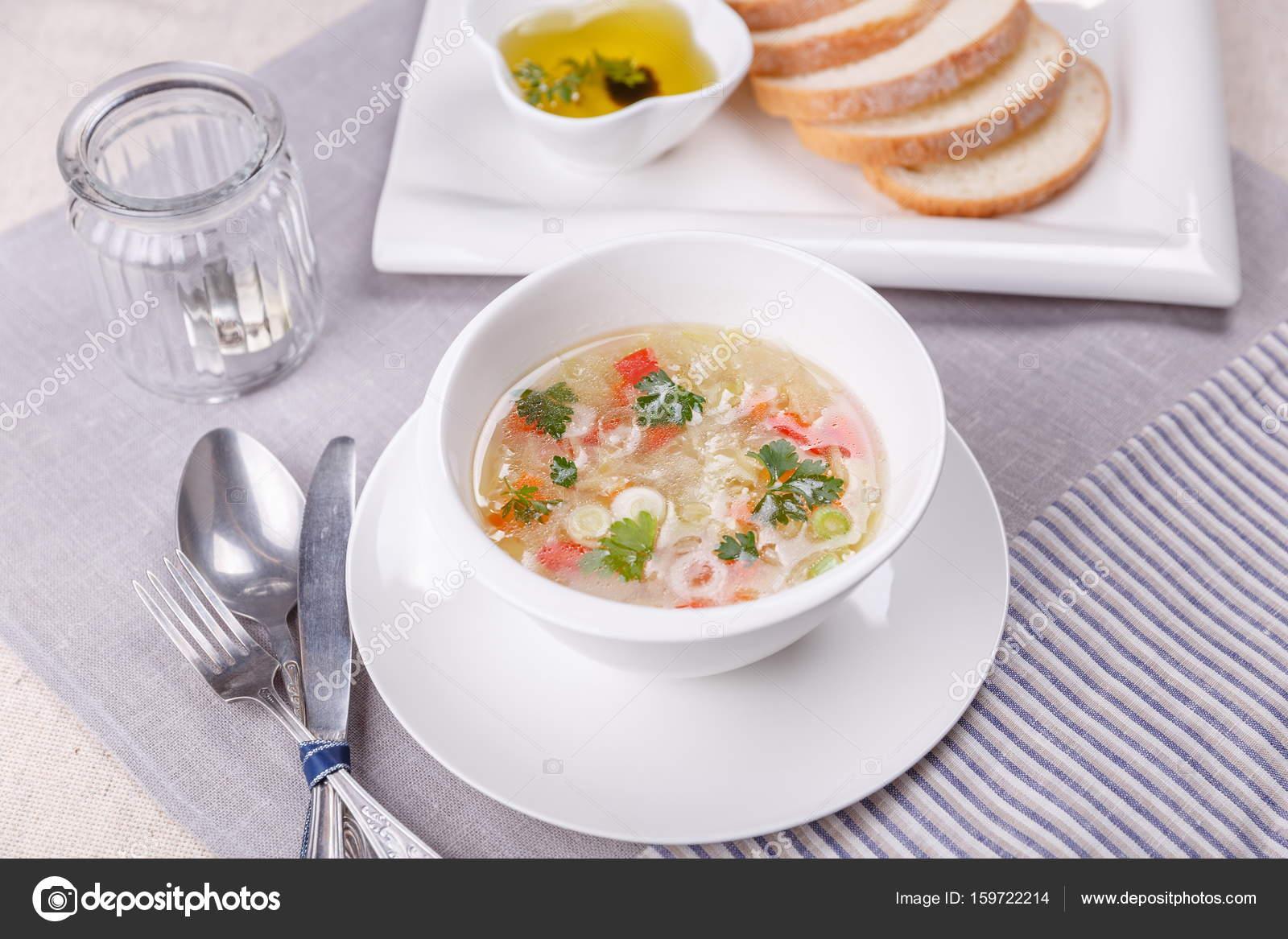 Taze sebzeli çorba