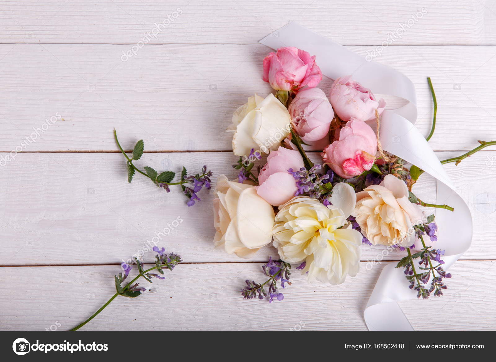 Beautiful english rose flower bouquet on white background stock beautiful english rose flower bouquet on white background stock photo izmirmasajfo
