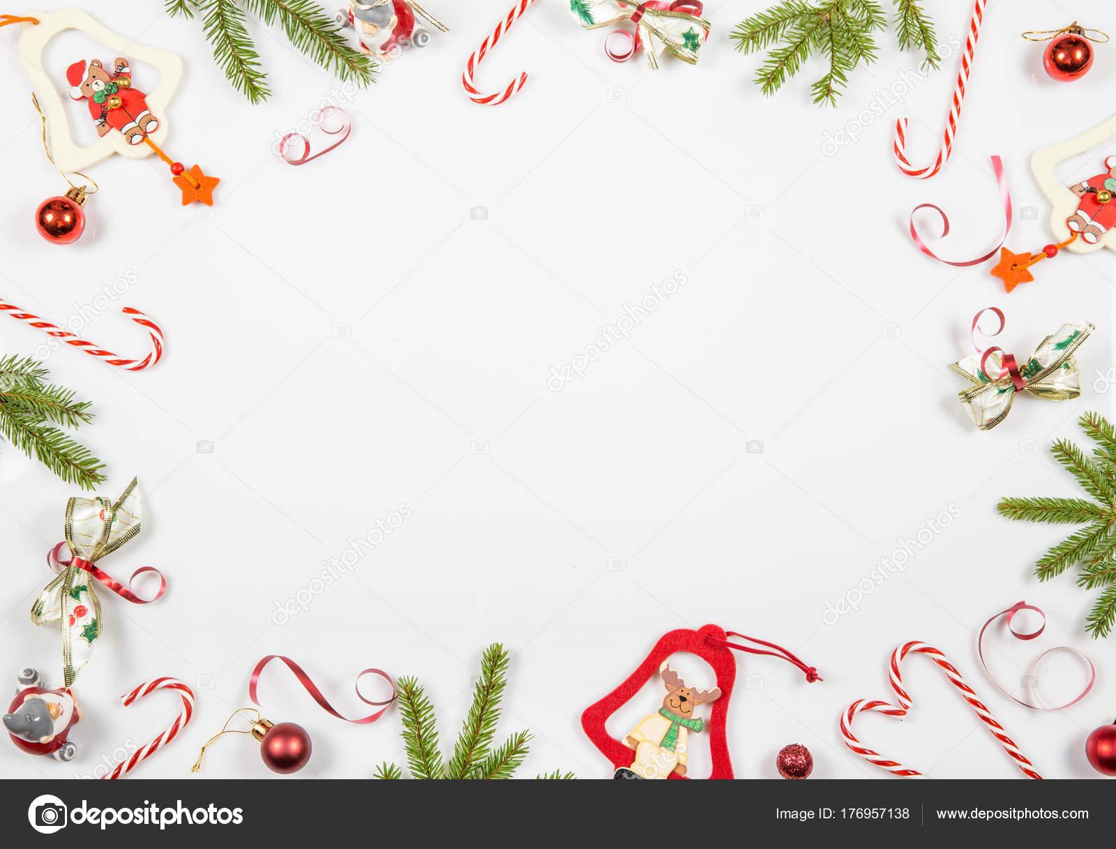 Dibujos De Navidad Creativos.Composicion De Vacaciones De Navidad Festivos Dibujos