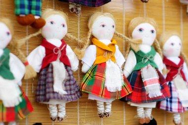 Cute handmade ragdoll dolls