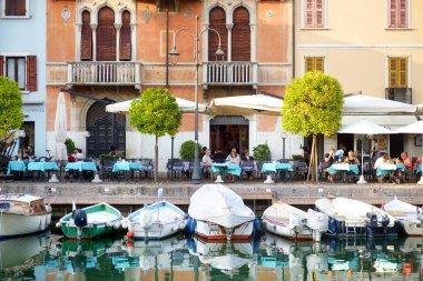 Beautiful view of Desenzano del Garda