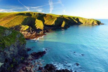 Scenic rugged Cornish coastline