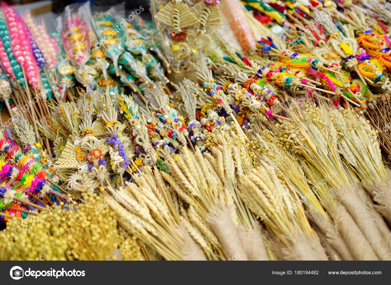 Palme Di Pasqua Lituano Tradizionale Foto Stock Maximkabb 180194482