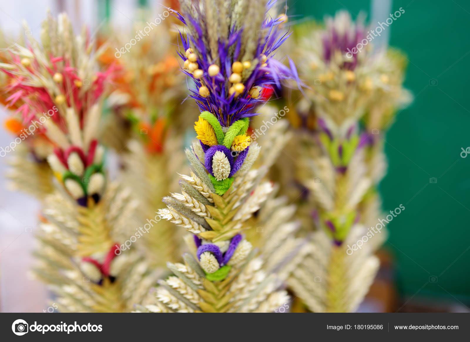 Palme Di Pasqua Lituano Tradizionale Foto Stock Maximkabb 180195086