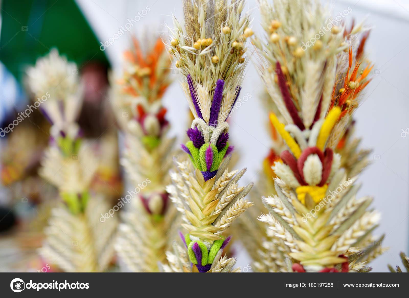 Palme Di Pasqua Lituano Tradizionale Foto Stock Maximkabb 180197258