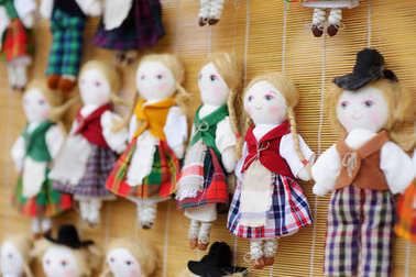 Cute handmade rag dolls