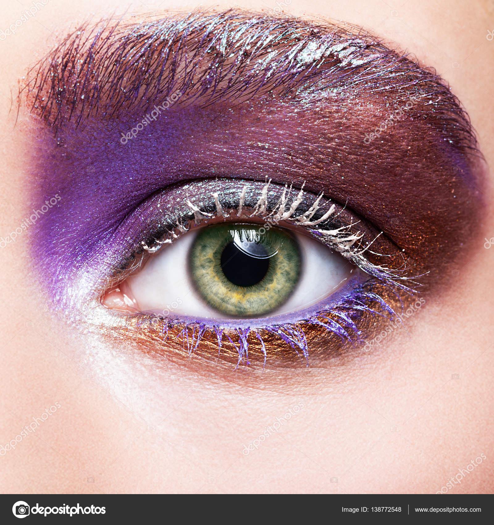 Брови под цвет глаз